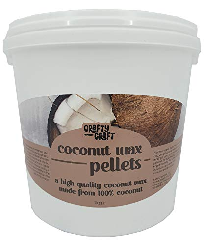 Coconut Wax Pellets for Candle Making - Premium Eco (1kg)