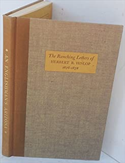 An Englishman's Arizona;: The ranching letters of Herbert R. Hislop, 1876-1878