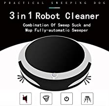 Yeed Sweeping Robot, Robot Vacuum Cleaner, Ultra-Thin 2.7in, 1800Pa Strong Suction, Quiet, Clean 150 Square Meters, 2400mAh Lithium-ion Battery USB Charging, can Clean Wood Floor Tile Blanket Marble