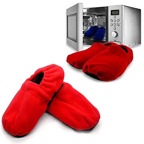 InnovaGoods - Zapatillas de Casa Calentables en Microondas,