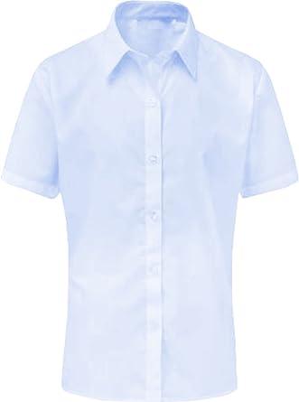 Blusa de Manga Corta para niñas, Uniforme, Uniforme, Color ...