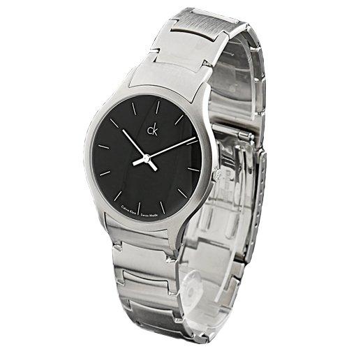 Calvin Klein K2611104 - Reloj de pulsera hombre, acero inoxidable, color plateado