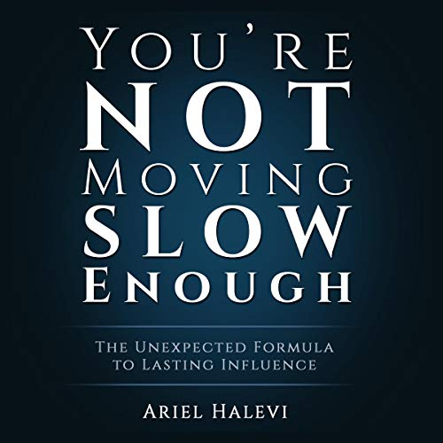 You're Not Moving Slow Enough audiobook cover art