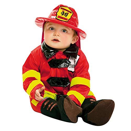 Desconocido My Other Me-203290 Disfraz de bebé bombero, 1-2 años (Viving Costumes 203290)