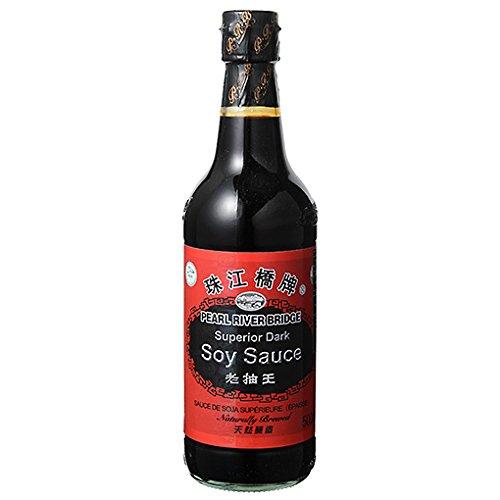 【海外発送用】珠江橋牌 老抽王(中国タマリ醤油) / 500ml