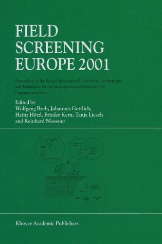 Field Screening Europe 2001: Proceedings of the Second International Conference on Strategies and Techniques for the Investigation and Monitoring of Contaminated Sites