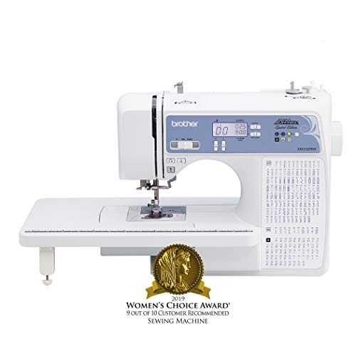 Brother, Computerized Sewing Machine, XR9550PRW, Project Runway Limited Edition, 110 Built-in...