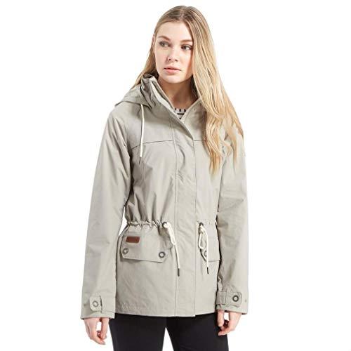Columbia Winterjacke für Damen, Remoteness Jacket, Taffeta/Nylon, grau (Flint Grey), Gr. L, EL1013