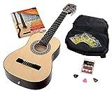 Calida Benita Guitare Classique 1/2 nature avec accessoires