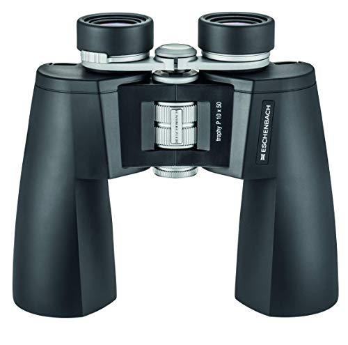 Eschenbach Optik Trophy P - Prismáticos (10 x 50 mm, Luminosos, robustos, Resistentes a la Intemperie, observación de la Naturaleza), Color Negro