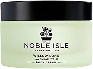 Noble Isle Willow Song Lavenham Walk Body Cream 170ml - 高貴な島柳の歌ラヴァンハム徒歩ボディクリーム170ミリリットル [並行輸入品]