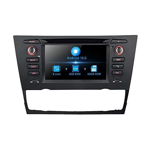 TOPNAVI 6.2 Pouces Android 10.0 autoradio pour BMW série 3 E90 E91 E92 E93 2005 2006 2007 2008 2009 2010 2011 2012 2013 2014 2015 2016 2017 Auto AC Radio GPS RDS 4G WiFi