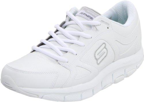 Skechers Liv-Lucent, Zapatos de Interior. Mujer, Blanco (Wht), 36 EU