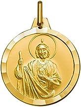 9 Carat Gold Medal Medalla de 9 Quilates de Oro de San Jude. Medalla de San Judo en Oro. Medalla San Jude. San Jude. St Jude Patron Saint of Lost Causes.