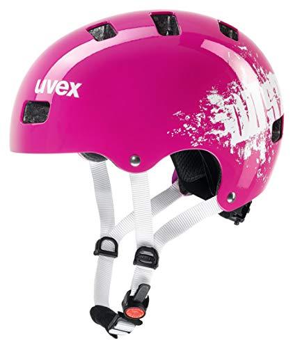 uvex Unisex Jugend, kid 3 Fahrradhelm, pink dust, 51-55 cm