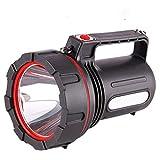 IOIOA Starkes Licht Taschenlampe, LED wiederaufladbare Scheinwerfer super helle weiträumige Wasserdicht Explosion Proof Stoß- Haushalt