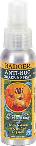 Badger Anti-BugTM Shake & Spray - 2.7 Fl Oz (Pack of 2)