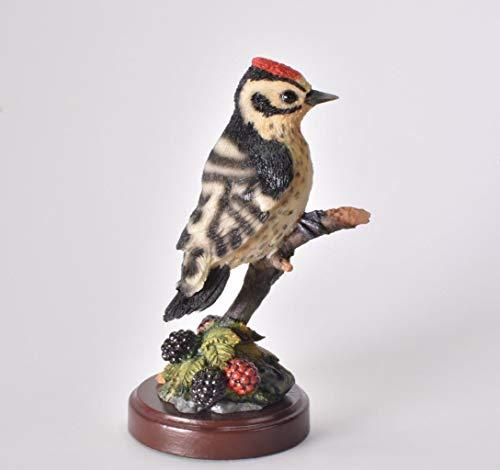 IXO/ALTAYA/ATLAS Figur Specht mit Sockel Dekoration Vogel Statue