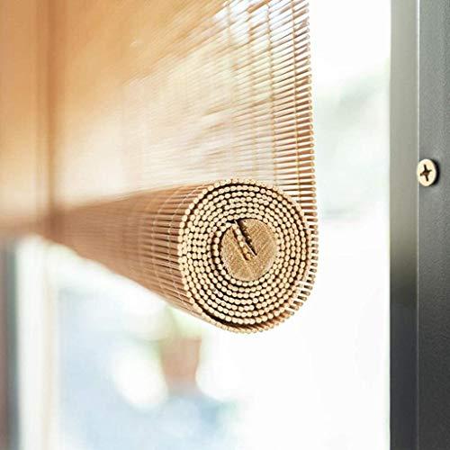 FANg Blackout Reed Vorhang Bambus-Vorhang Rollläden Fenster Trennwand Tür Sonnenschutz Retro Vorhang Balkon Schlafzimmer Teestube, Customizable Straw Vorhang (Size : 130X250CM)