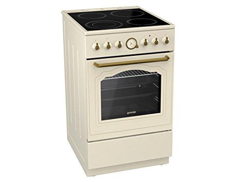 Gorenje EC 52 CLI Classico Staand fornuis ivoor nostalgie oven kookplaat