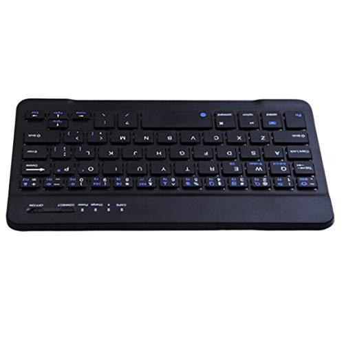 Mini ultra-thin wireless keyboard Three-system universal tablet external keyboard Slim Portable Keyboard