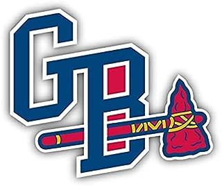 Gwinnett Braves MILB Minor Baseball MLB - Sticker Graphic - Auto Wall Laptop Cell Truck Sticker - Easy Stick Sticker Graphic