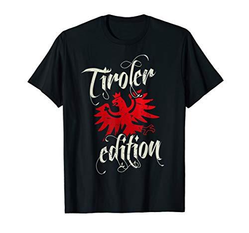 Tiroler Edition für Bua & Madl Tirol mit Adler Damen Herren T-Shirt