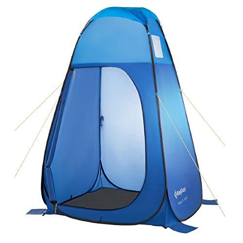 KingCamp Carpa emergente portátil para Exteriores para Camping, Inodoro, Ducha, Vestuario, Playa, móvil Privado, 190 cm
