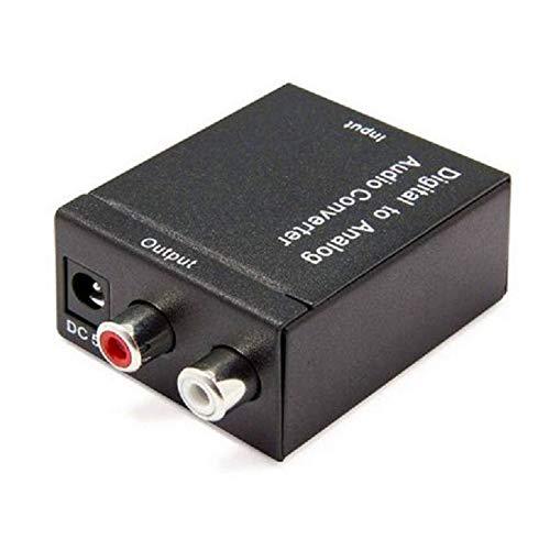 Adaptador Conversor de Áudio Digital (Óptico) para Analógico LE-5552