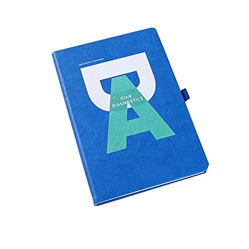 FACHAI Bloc de notas A5, cubierta de piel sintética, bloc de notas, planificador, lista de calendario, cuaderno de alta calidad, diseño único, 21 x 14,5 cm, color rosa