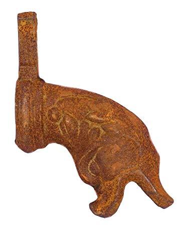 Fuente gárgola dragón Fuente de Estilo Antiguo de Hierro caño