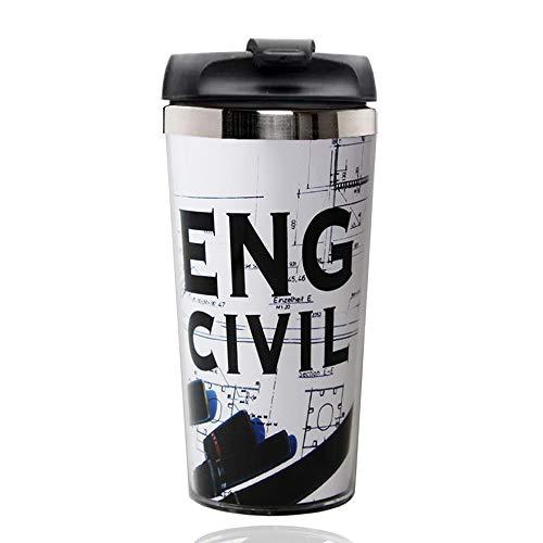 Copo Térmico Engenharia Civil - Não Vaza (inox)