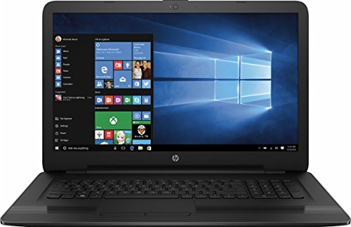 2017 HP 17 High Performance Laptop, 17.3-inch HD+ Display (1600 x 900), Intel i5-7200U 2.5 GHz Processor, 6GB DDR4L RAM, 1TB HDD, DVD Burner, WIFI, Webcam, HDMI, Windows 10
