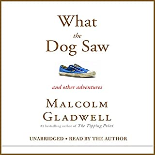 What the Dog Saw audiobook cover art