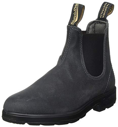 Blundstone Unisex 1910 Suede Textile Steel Grey Boots 12 W / 10 M US