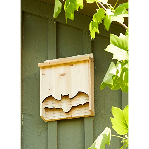 EverGreen Bat House Bat Shape, 18 Inches