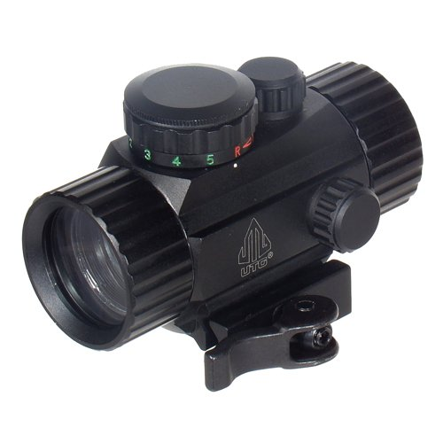 UTG 3.8' ITA Red/Green Circle Dot Sight w/Integral QD Mount