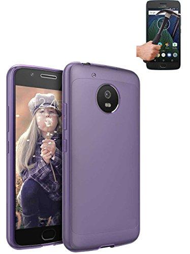 Todobarato24h Funda TPU Lisa Motorola Moto G5 Plus 5.5 Pulgadas Morada +...