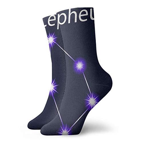 xinfub Sternbild Cepheus mit Sternen am Nachthimmel Spaß und interessante Socken cm /.Zoll