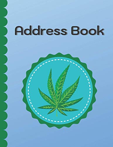 Address Book: The Healing Magic for Pain Therapy Theme Cover with Alphabetical Tabs 8.5 x 11 inch 130 Cream Pages and Special 30 Cream Pages for Keeping Internet Password and Email.