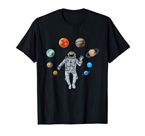 Astronaut & Planeten Weltraum Kosmos Galaxie Geschenk Space T-Shirt