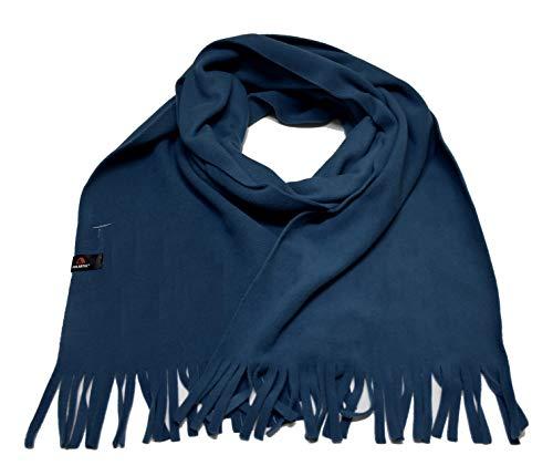 ADRENA Polartec Fleece Scarf |Warm Winter Tactical Scarf with Soft & Non-Pilling Polartec Fleece Fabric -Monetery Blue