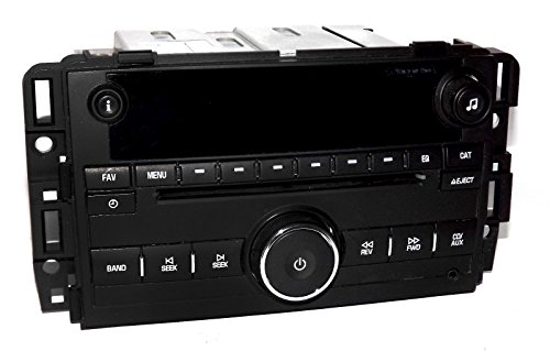 1 Factory Radio CD Player mp3 Aux Input Radio Compatible with 2007-2014 Chevy Truck 20918429
