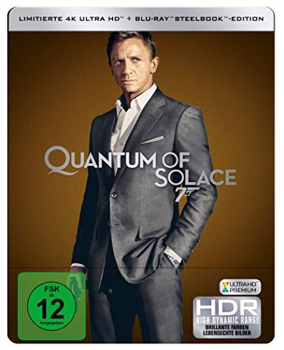 James Bond: EIN QUANTUM TROST ( 4K UHD + Blu-ray ) Limited Edition