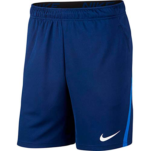 NIKE M Nk Dry Short 5.0, Hombre, Blue Void/Game Royal/White, 2XL