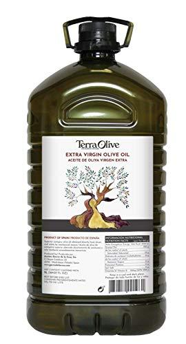 TerraOlive - Huile d'Olive Extra Vierge de Haute Qualité - 5 litres