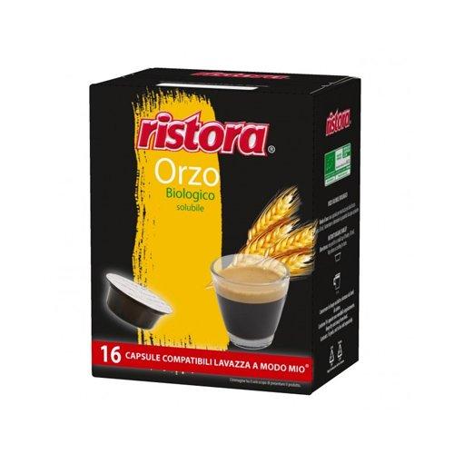 128 cápsulas Ristora Orzo compatibles con Lavazza A Modo Mio