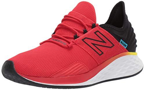 New Balance Men's Roav V1 Fresh Foam Running Shoe, Velocity RED/Black, 10 D US
