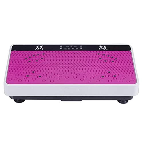 CCAN Ultradünne Vibrationsmaschine Shake-Maschine, Faule Leute reduzieren Magen-Abnehmen-Maschine Vibration Fitness-Ausrüstung, 99-Gang-Einstellung, Magnet Shiatsu Massage