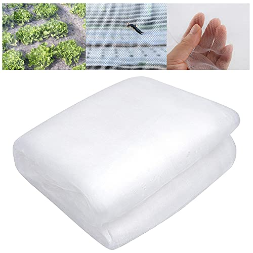 Garden Netting for Plant, Insect Bird Barrier Netting Mesh Garden Bug Netting Plant Cover for Protect Plant Fruits Flower from Insect Bird Eating(78.8×118.2inch)